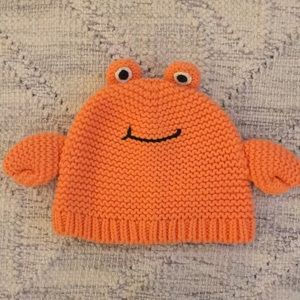 Baby Gap Crab Hat